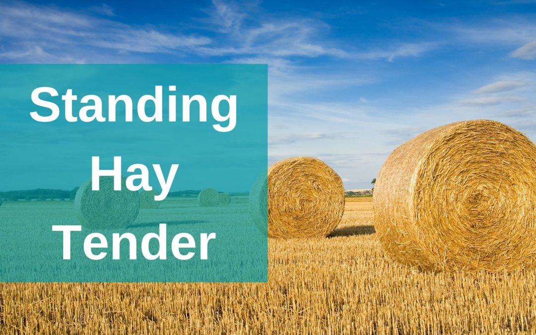 2020 Standing Hay Tender